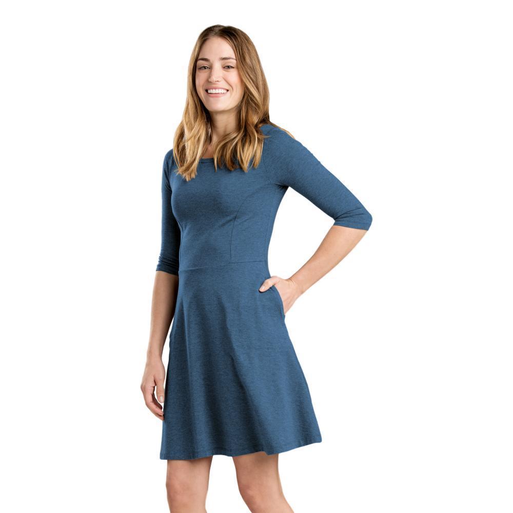 Toad&Co Women's Faro Dress BLWINGTEAL