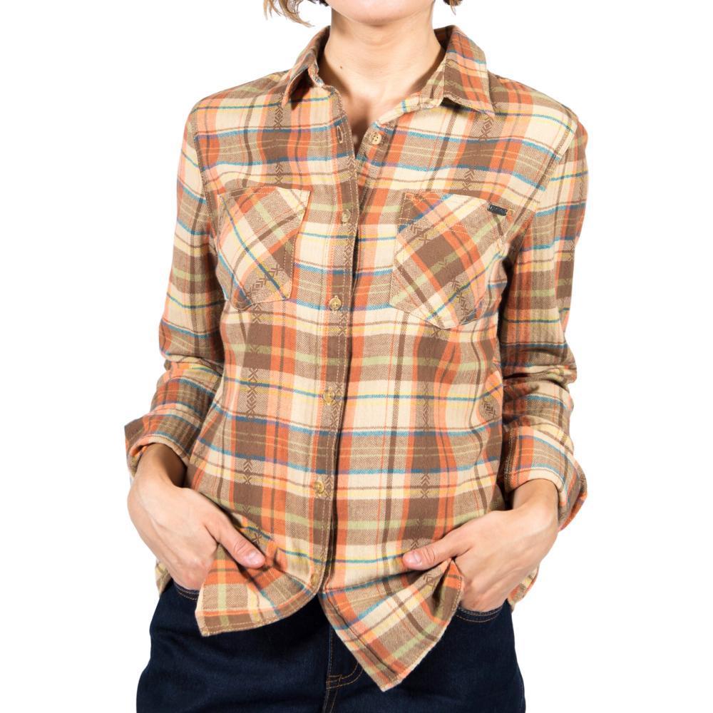 Gramicci Women's General Purpose Plaid Flannel Shirt SIERRATAN