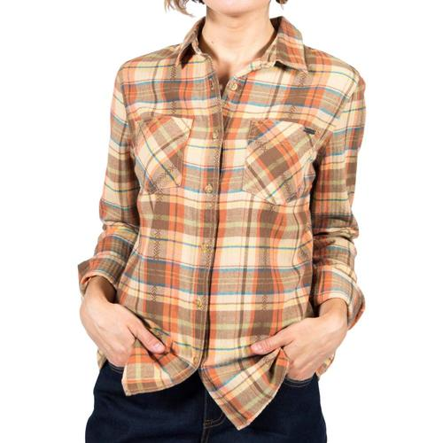Gramicci Women's General Purpose Plaid Flannel Shirt Sierratan