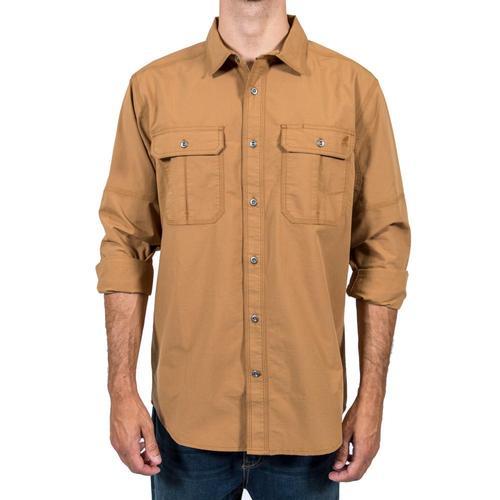 Gramicci Men's No-Squito Outback Convertible Long Sleeve Shirt Safaritan