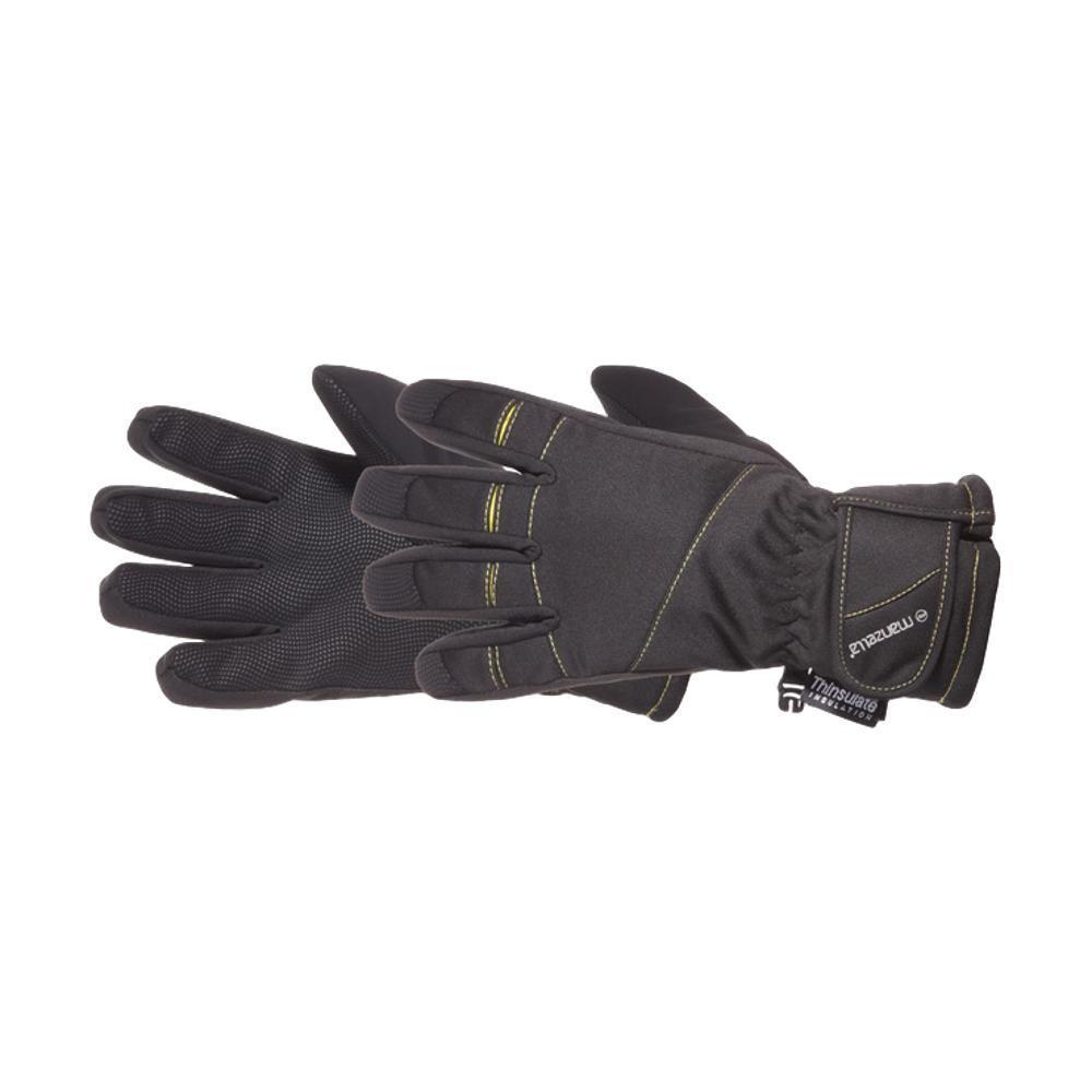 Manzella Youth Half Pipe Gloves BLACK