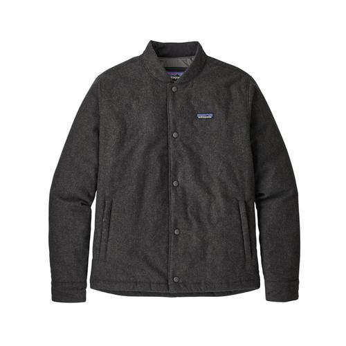 Patagonia Men's Recycled Wool Bomber Jacket Fge_grey