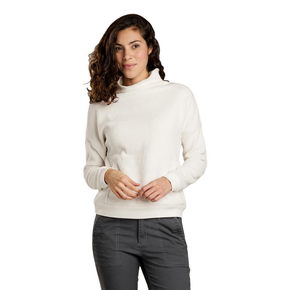 Toad&Co Women's Cashmoore T-Neck Pullover EGRET