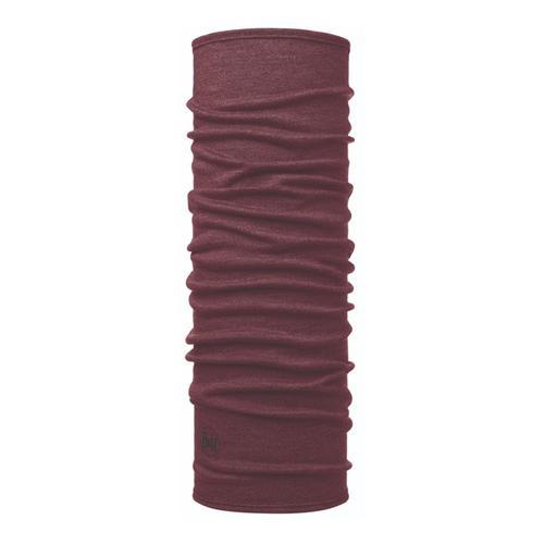 Buff Midweight Merino Wool Headwear - Wine Melange Winewelange