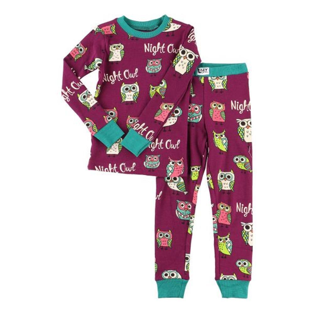 Lazy One Kids Night Owl Pj Set