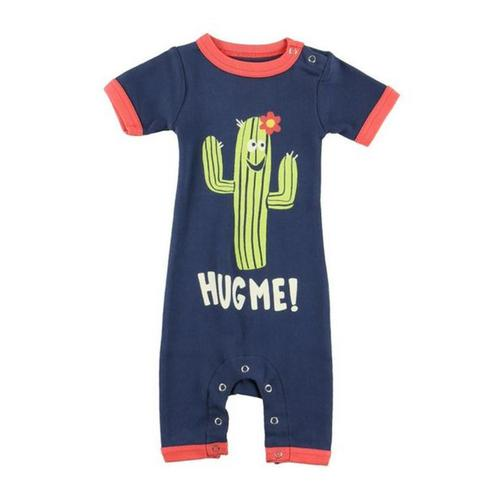 Lazy One Infant Hug Me Romper Cactus