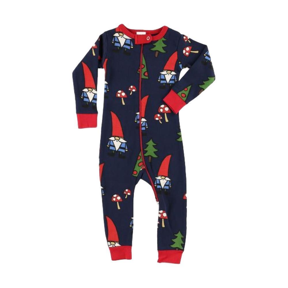 Lazy One Infant No Place Like Gnome Union Suit NAVY_MULTI