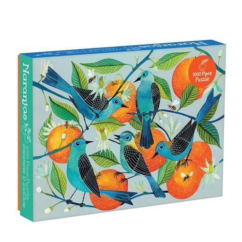 Chronicle Books Geninne Zlatkis Naranjas 1000-Piece Puzzle
