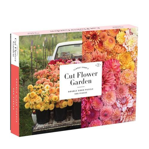 Chronicle Books Floret Farm's Cut Flower Garden 2-sided 500-Piece Puzzle