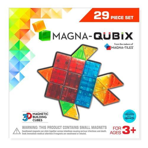 Magna-Tiles Magna-Qubix 29 Piece Set