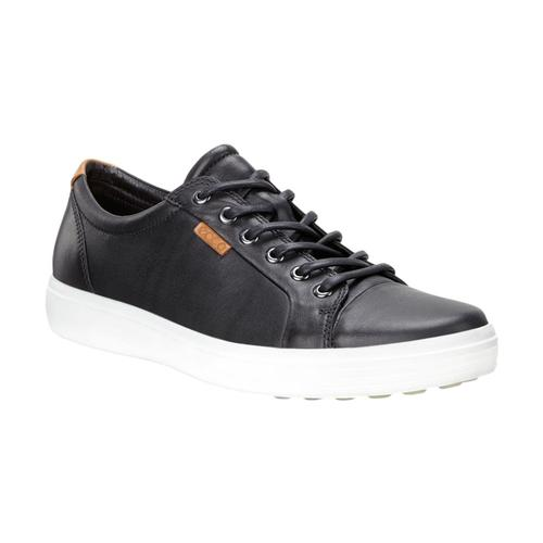 Ecco Men's Soft 7 Sneakers Blk_01001
