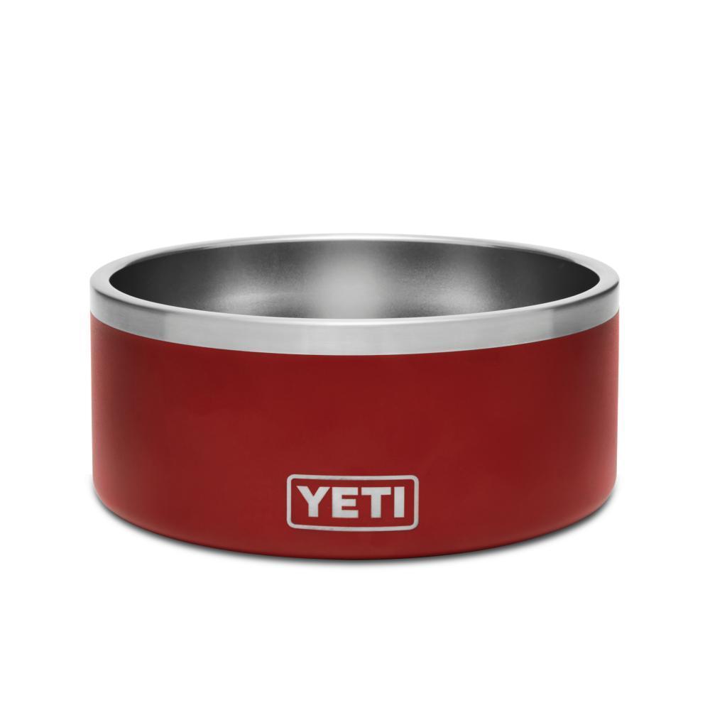 YETI Boomer 8 Dog Bowl BRICK_RED