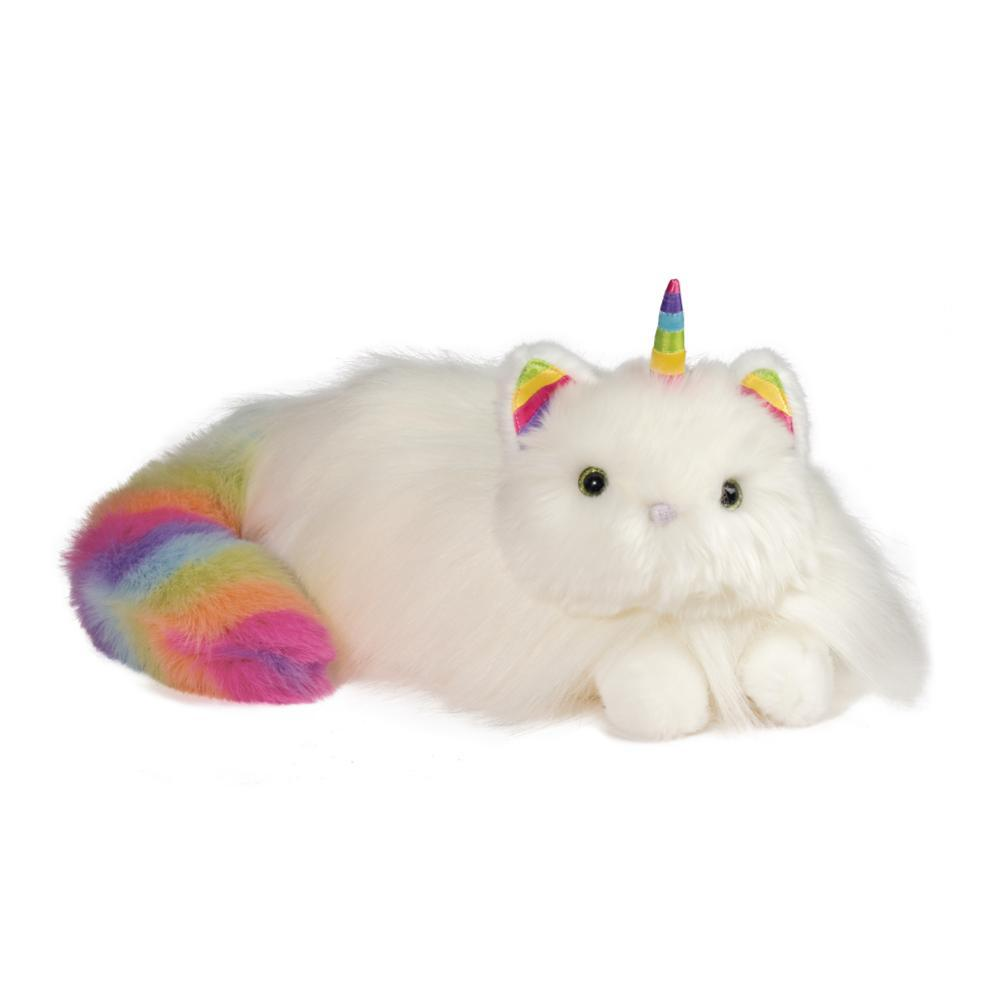Douglas Toys Ziggy The Rainbow Caticorn Fuzzle