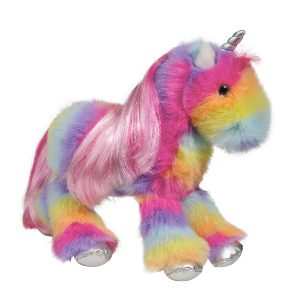 Douglas Toys Stumbles The Rainbow Unicorn Fuzzle