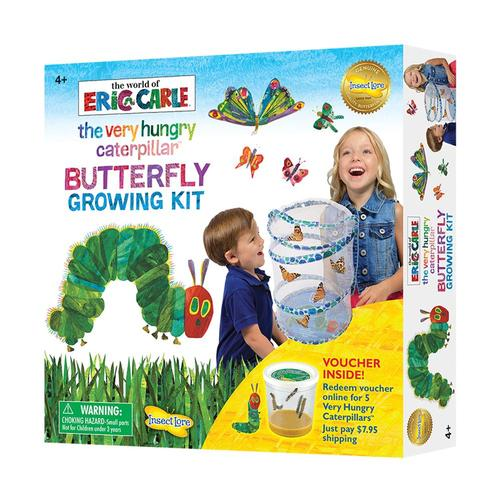 Insect Lore The Very Hungry Caterpillar Butterfly Growing Kit