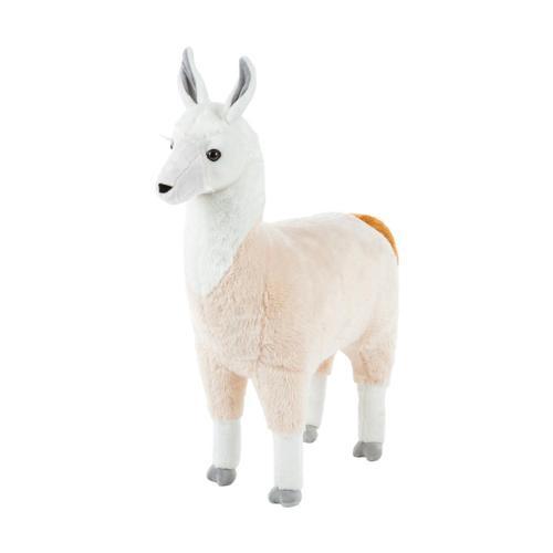 Melissa & Doug Lifelike Plush Llama