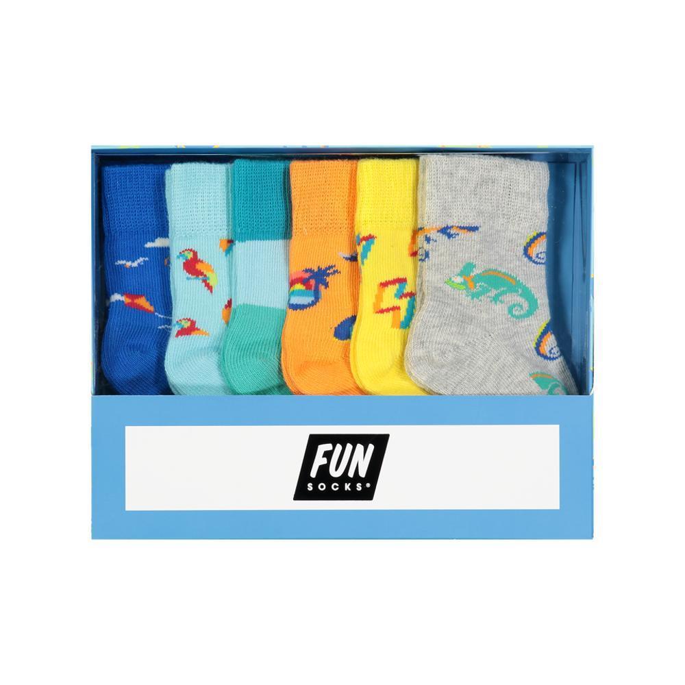 FUN Socks Infant Boys Box Set ASST