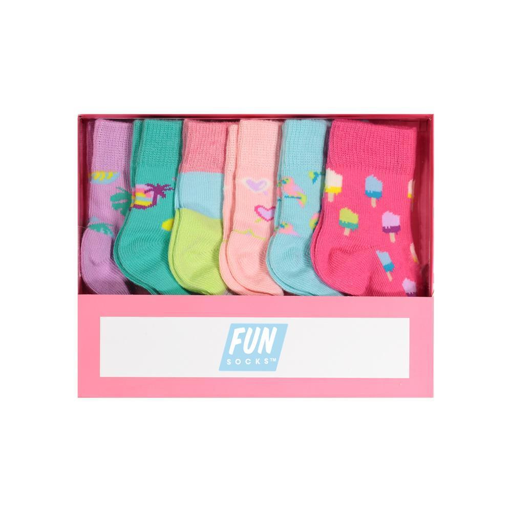 FUN Socks Infant Girls Box Set ASST