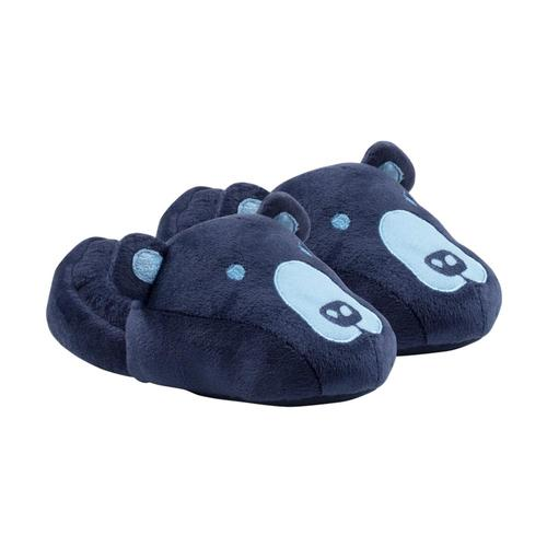 Life is Good Kids Bear Slippers Blue