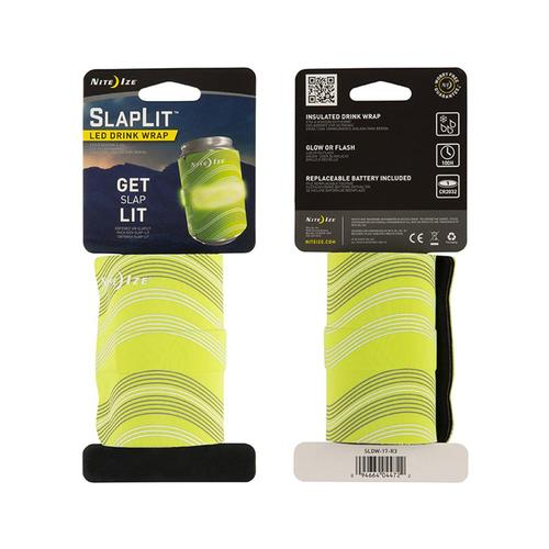 Nite Ize SlapLit LED Drink Wrap Green