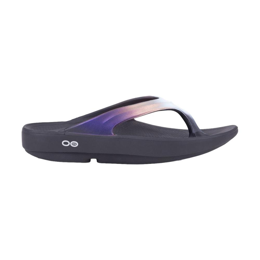 ac9a5435687 Oofos Women s Oolala Luxe Flip Sandals Item   1401-CALYP