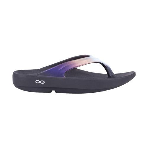OOFOS Women's OOlala Luxe Flip Sandals Calypso