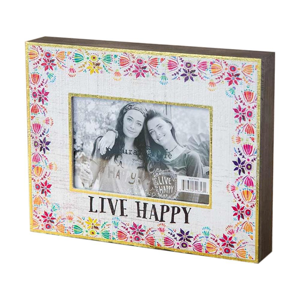 Natural Life Live Happy Picture Frame