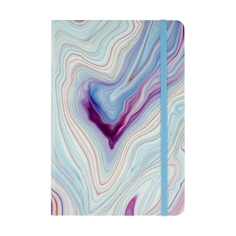 Blue Agate Dot Matrix Notebook