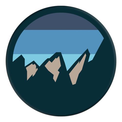 PopSockets Peaks Blue Grip