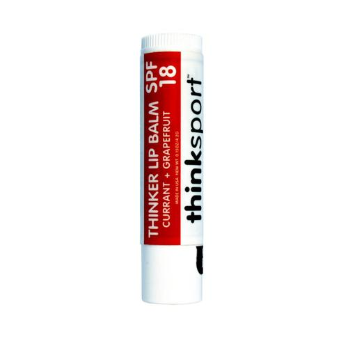Think Operations Thinker Lip Balm SPF 18: Currant and Grapefruit