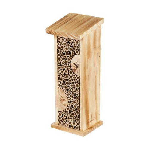 Evergreen Garden Small Stamped Tower Bee House