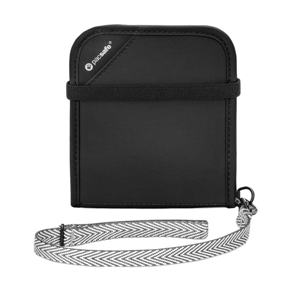 Pacsafe RFIDsafe V100 Anti-Theft RFID Blocking Bi-Fold Wallet BLACK_100