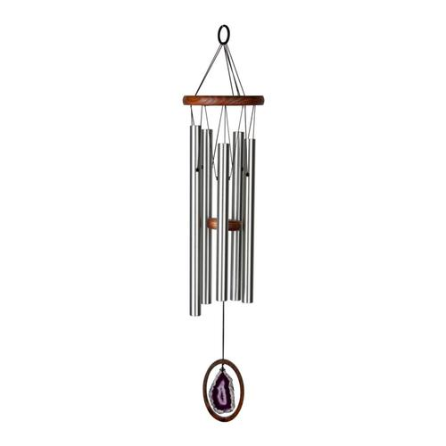 Woodstock Chimes Agate Wind Chime - Large, Purple