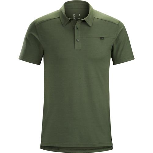 Arc'teryx Men's Captive Short Sleeve Polo Larix
