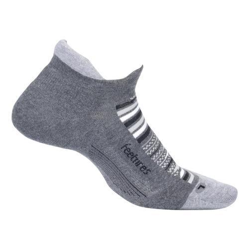 Feetures Unisex Elite Max Cushion No Show Tab Socks Nightsky