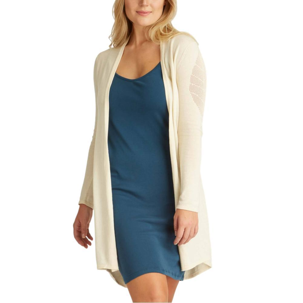 Indigenous Designs Women's Leaf Cardigan IVORY
