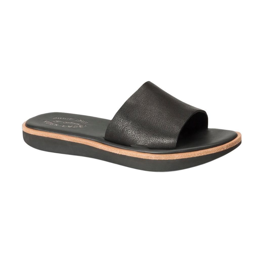 Kork-Ease Women's Baldur Slide Sandals BLACK