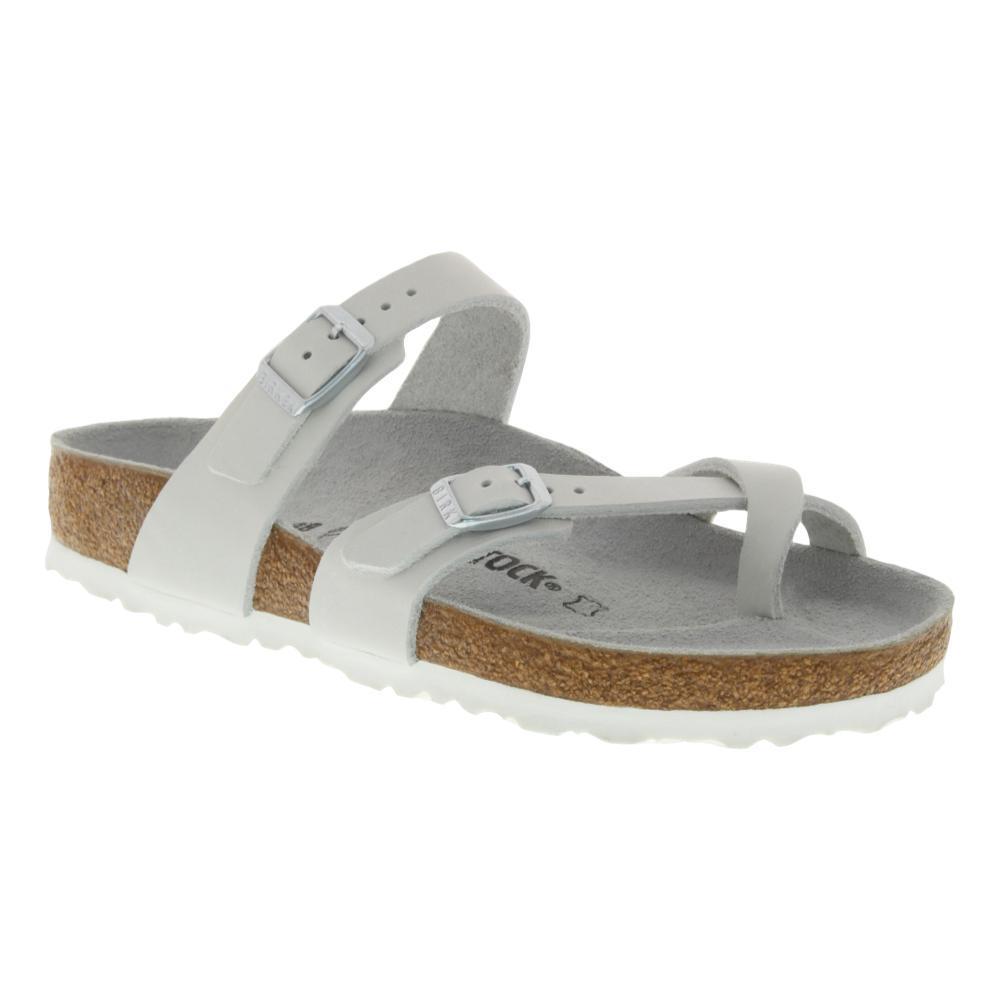 Birkenstock Women's Mayari Nubuck Leather Sandals WHITENB
