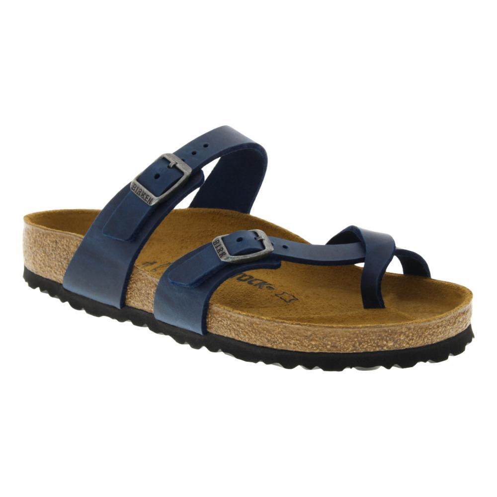 Birkenstock Women's Mayari Oiled Leather Sandals BLUELTH