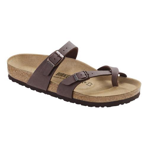 Birkenstock Kids Mayari Birkibuc Sandals Mocha