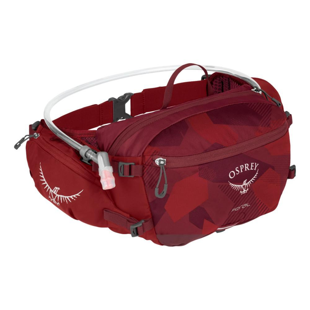 Osprey Seral with 1.5L Reservoir Hydration Lumbar Pack MOLTENRED