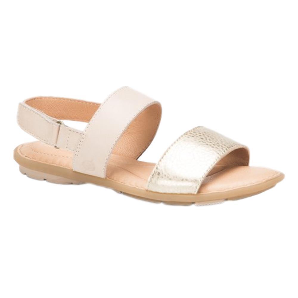 Born Women's Fleet Sandals NAT.GOLD