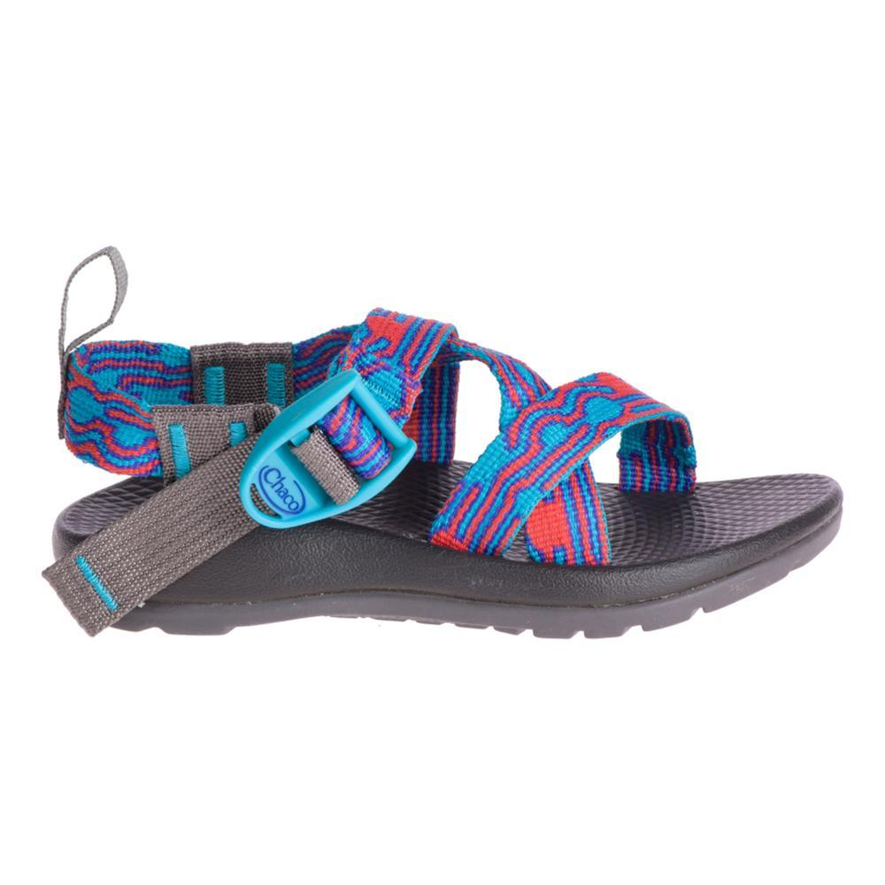 Chaco Kids Z/1 EcoTread Sandals BUBLTEAL