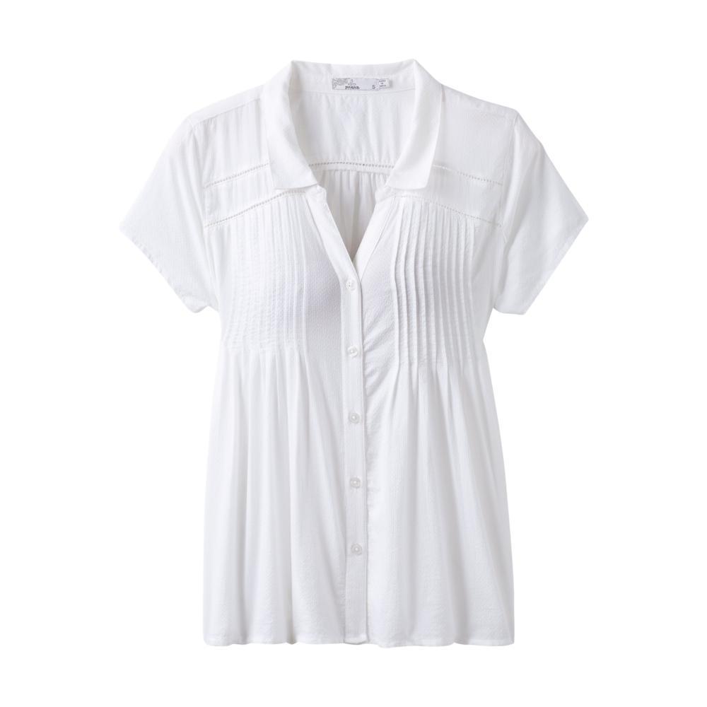 prAna Women's Katya Top WHITE