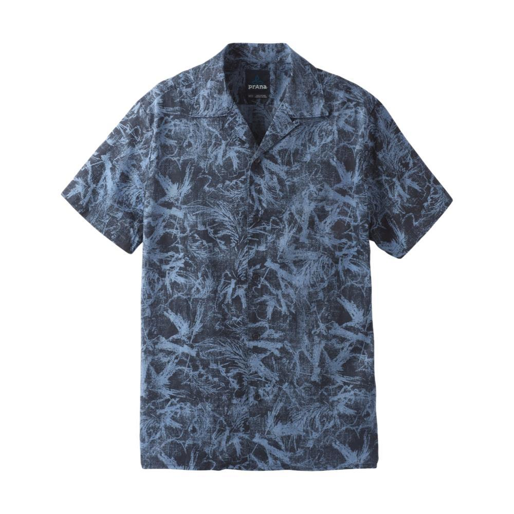 prAna Men's Keilyr Camp Shirt STEELBLUE
