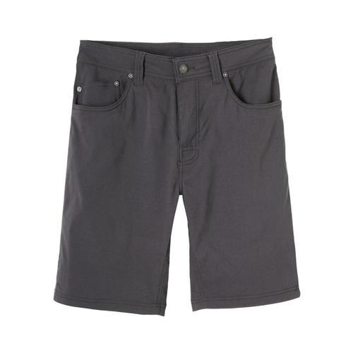 prAna Men's Brion Shorts – 11in Charcoal