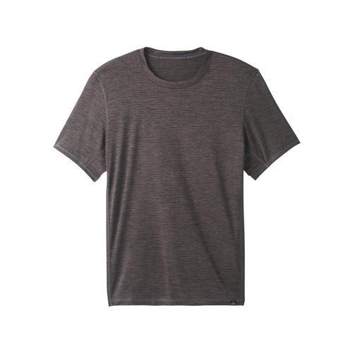 prAna Men's Hardesty Short Sleeve Shirt Granite