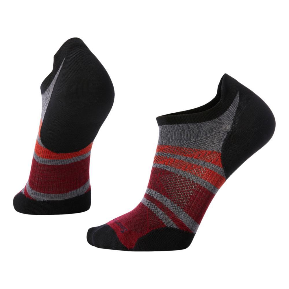 Smartwool Men's PhD Run Ultra Light Pattern Micro Socks GRAPHT_018