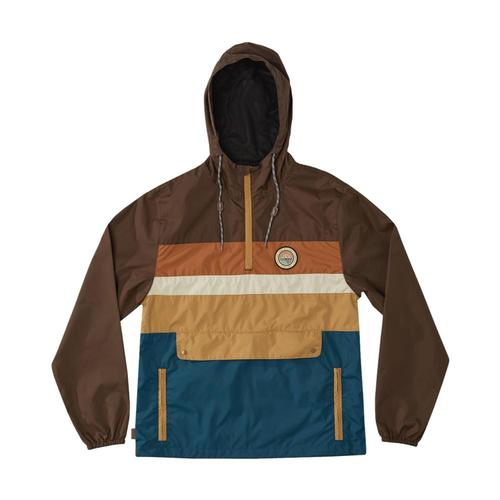 c07f04269f5 ... HippyTree Men s Portola Windbreaker Brown
