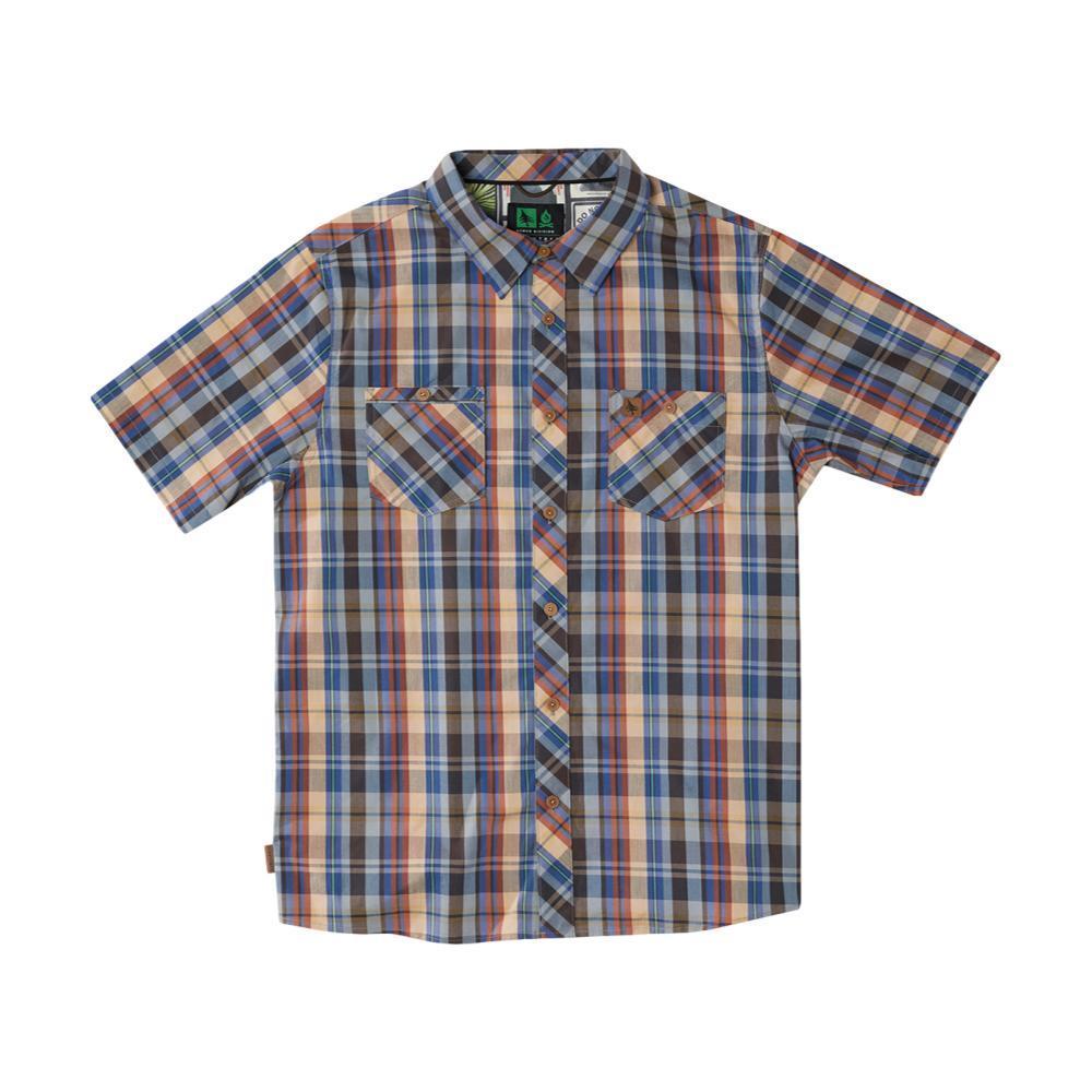 HippyTree Men's Rochester Woven Shirt BLUE